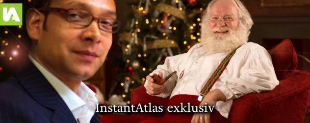 Julian-Tyndale-Biscoe-und-Weihnachtsmann